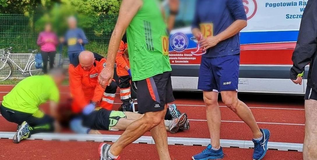 Tragedia na Stadionie Miejskim w Świnoujściu. Biegacz zmarł chwilę po przejściu testu Coopera