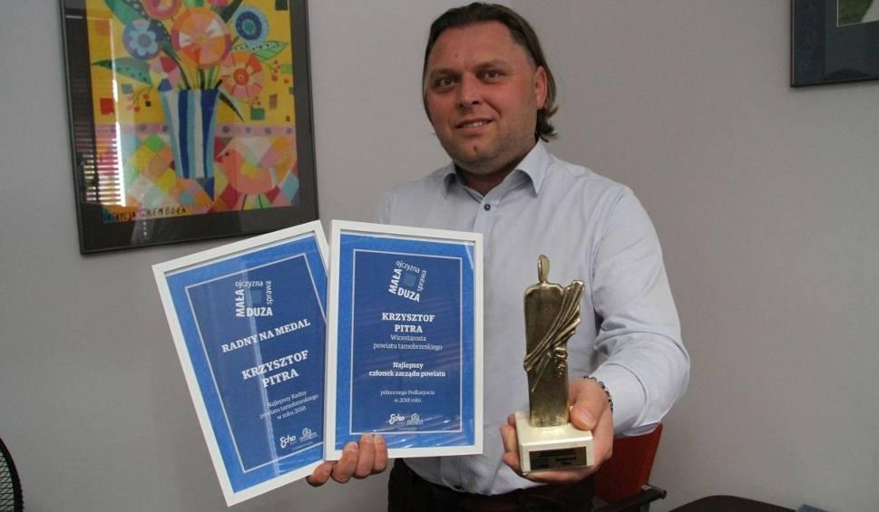Film do artykułu: Krzysztof Pitra najlepszym członkiem zarządu powiatu na północnym Podkarpaciu
