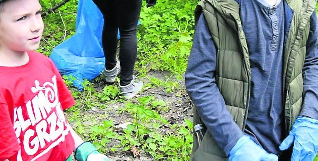 Mieszkańcy Skierniewic sprzątali miasto w weekend. Dwie inicjatywy - jeden cel