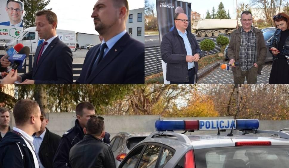Film do artykułu: Wybory 2018. Ostra końcówka kampanii przed II turą wyborów w Kraśniku. Uchodźcy, oskarżenia i policja (ZDJĘCIA,WIDEO)