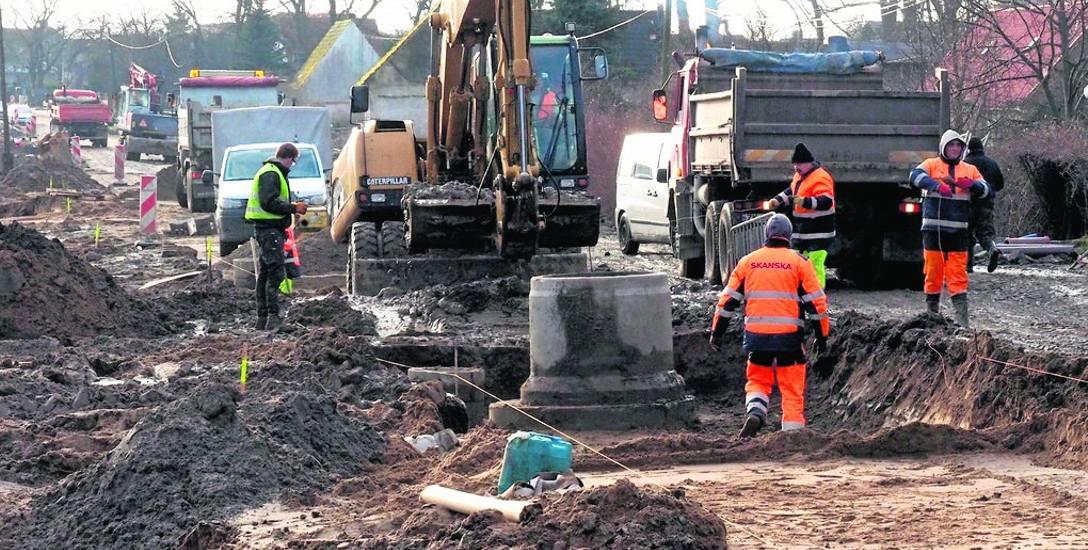 Ulica Połczyńska: pogoda odpowiada za spóźnienie