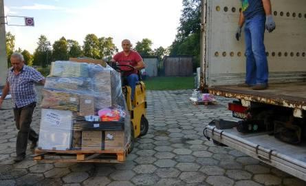 Na Pomorze dotarły dary z powiatu kłobuckiego dla poszkodowanych w nawałnicach