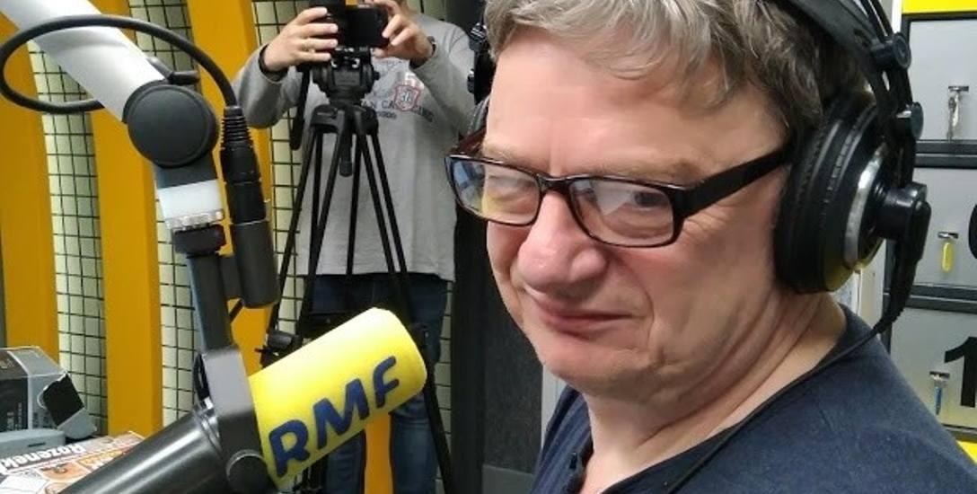Tomasz Olbratowski, gwiazda RMF, miał ciekawą młodość  w Tarnowie. Skakał ze skoczni na... sankach [ROZMOWA]