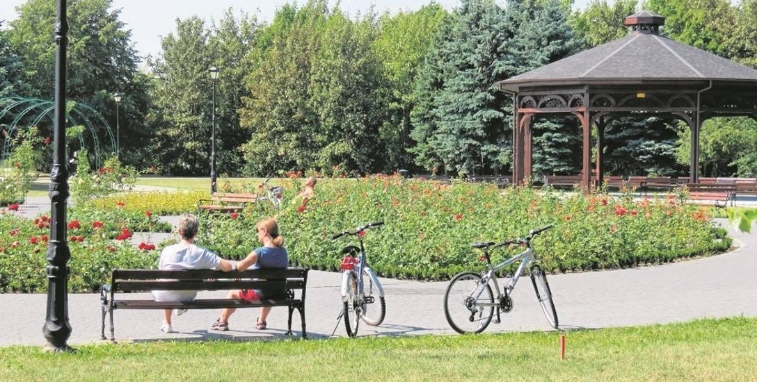 Dzięki dotacji z  RPO powstała także nowa część Parku Solankowego.