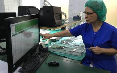 Centralna sterylizatornia Uniwersyteckiego Szpitala Klinicznego jest jedyną na Opolszczyźnie z komputerowym systemem obiegu narzędzi.
