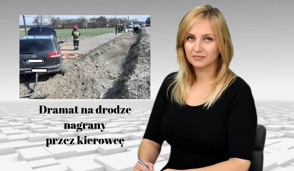 Film do artykułu: Wiadomości Echa Dnia. Dramat na drodze nagrany przez kierowcę