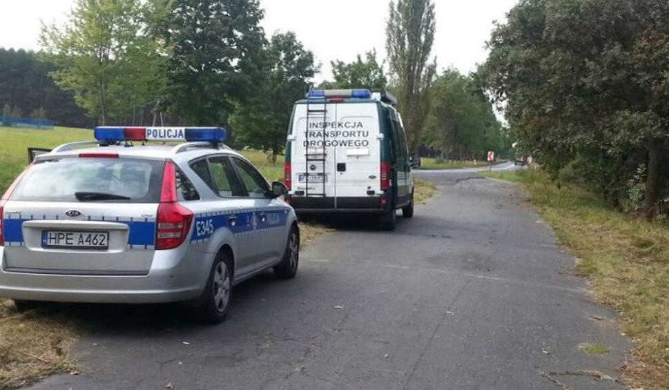 Film do artykułu: Szok! Właściciel zepsutego autokaru chciał siłą zmusić policjanta do zezwolenia na dalszą jazdę