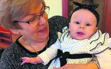 Oczkiem w głowie całej rodziny jest Natalia - najmłodsza wnuczka prezes Budopolu Delta w Radomiu Grażyny Szafarowskiej.