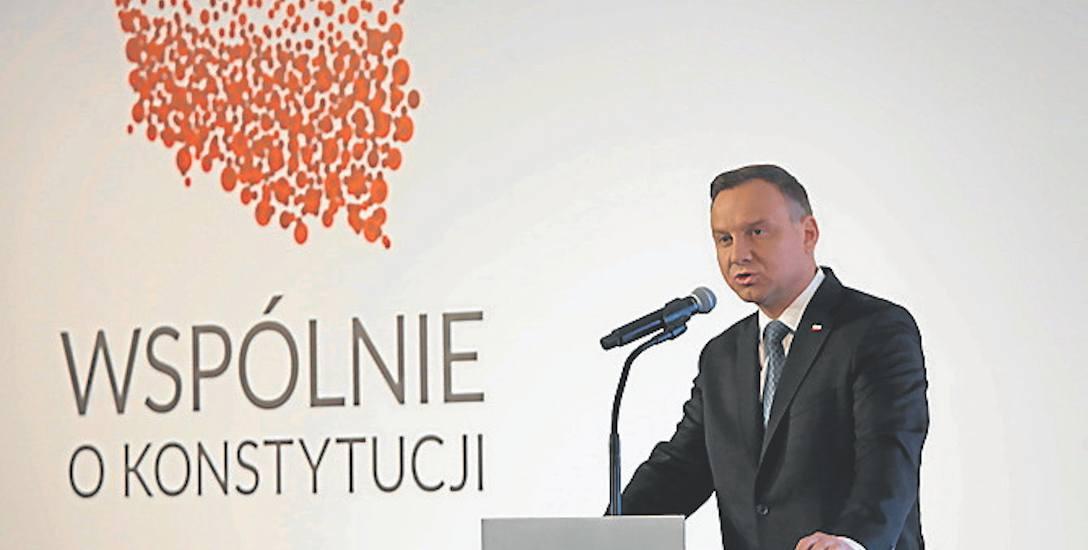 Prezydent mówił o historycznych motywach uchwalenia Konstytucji 3 maja, ale i o obecnych potrzebach zmian