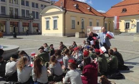 Radni PiS na Rynku Kościuszki