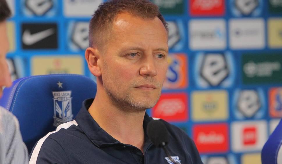 Film do artykułu: Lech Poznań: Nowy dyrektor sportowy Tomasz Rząsa już pracuje. Djurdjević ma duże wsparcie