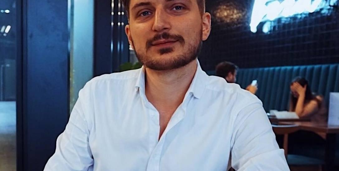 Erwin Grzebyk, psycholog.