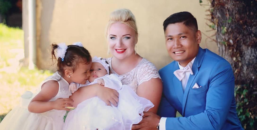 - Obawy okazały się niepotrzebne, bo filipińska rodzina przyjęła mnie bardzo ciepło. To pozytywni, życzliwi i dobrzy ludzie. Mama przekonała się o tym,