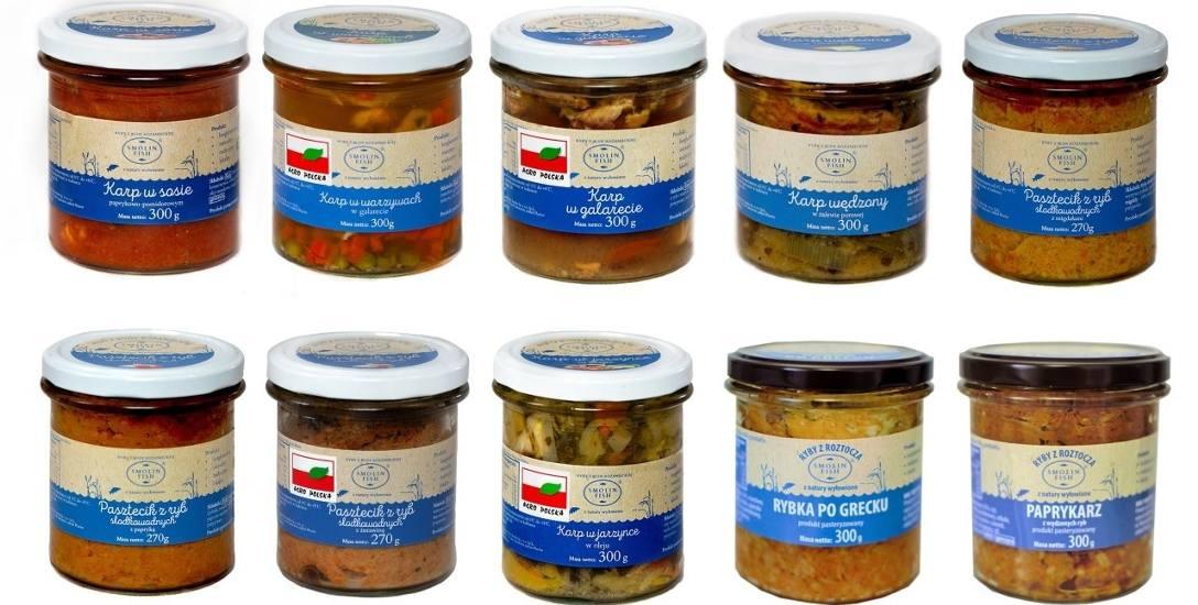 Ryby wykorzystywane do produkcji wyrobów SmolinFish pochodzą głównie z gospodarstwa rybackiego w Rudzie Różanieckiej