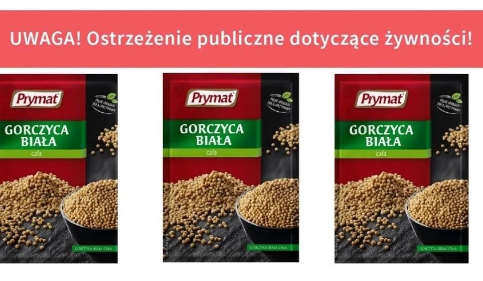 Film do artykułu: Uwaga - salmonella w gorczycy marki Prymat. Masz ją w domu? Grozi zatruciem!