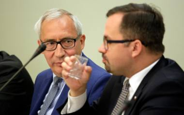 Kazimierz Smoliński  i Marcin Horała