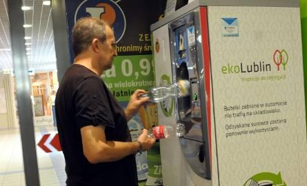 Lublin: Oddaj butelkę lub puszkę do automatu i wygraj tablet