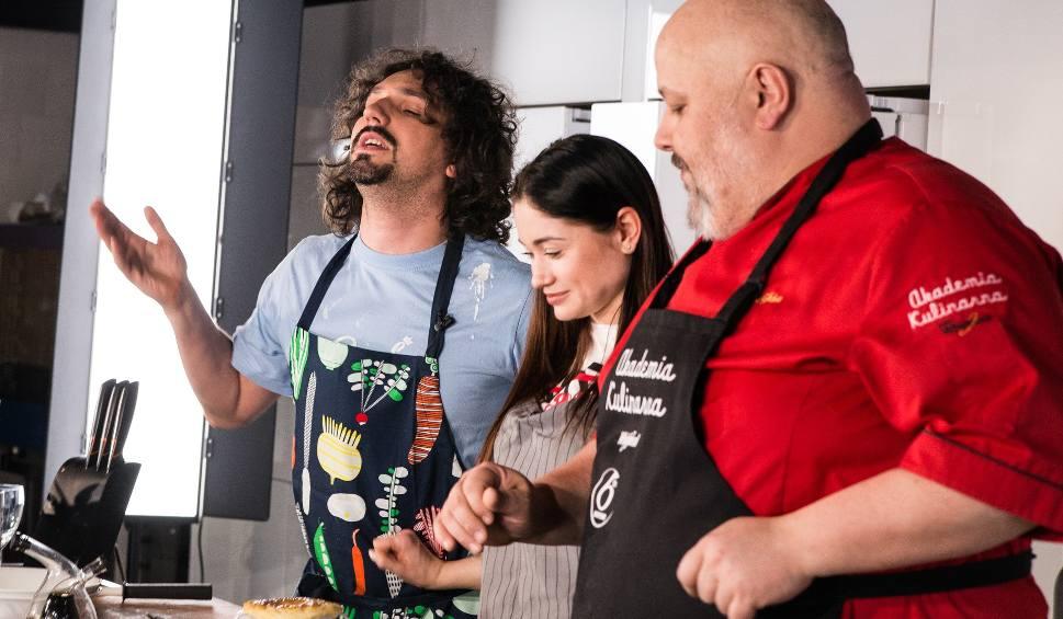Film do artykułu: Nowy program kulinarny! Mariusz Kałamaga i Walerija Żurawlewa gotują z włoskim mistrzem kuchni