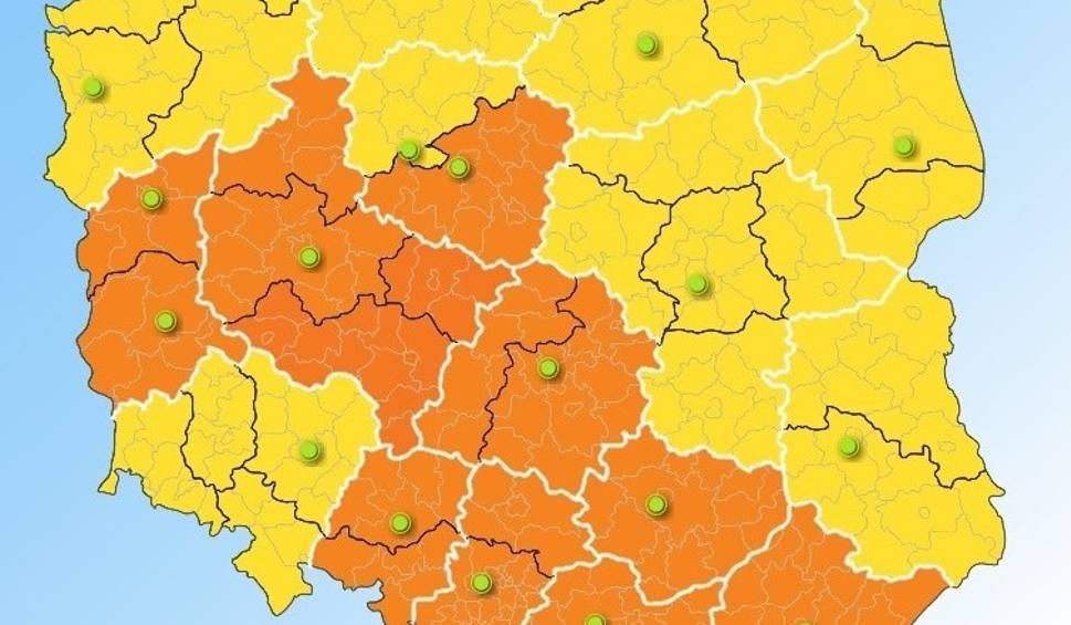 """Film do artykułu: """"Pomarańczowe"""" ostrzeżenie meteo: Upały w Małopolsce"""