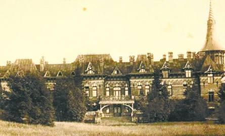 Pałac carski w Białowieży – widok od strony północnej