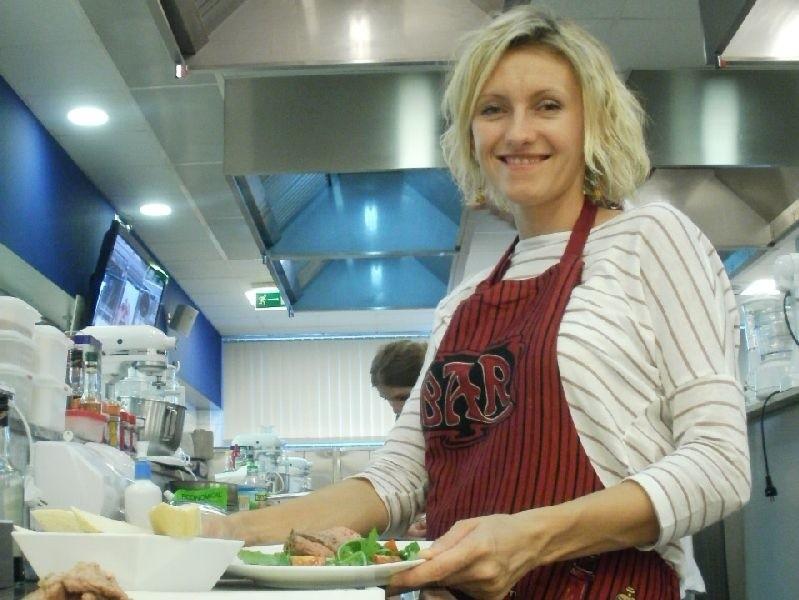 Kuchnia to miejsce, w którym pani Agnieszka czuje się najlepiej. Gotowanie to jej pasja.