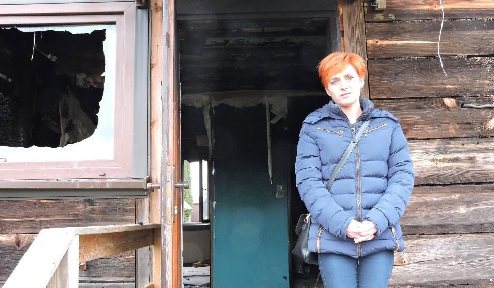 Film do artykułu: Głażewo-Cholewy. Rodzina straciła dom. Ruszyła zbiórka pieniędzy na odbudowę