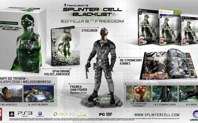 Splinter Cell: Blacklist. Edycja kolekcjonerska z zegarkiem. Albo figurką