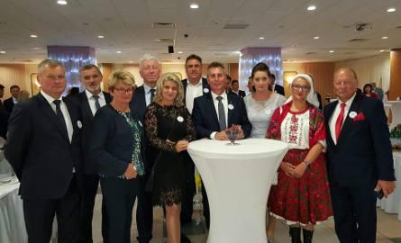 Samorządowcy, rolnicy i przedstawiciele firm przemysłu spożywczego z regionu radomskiego.
