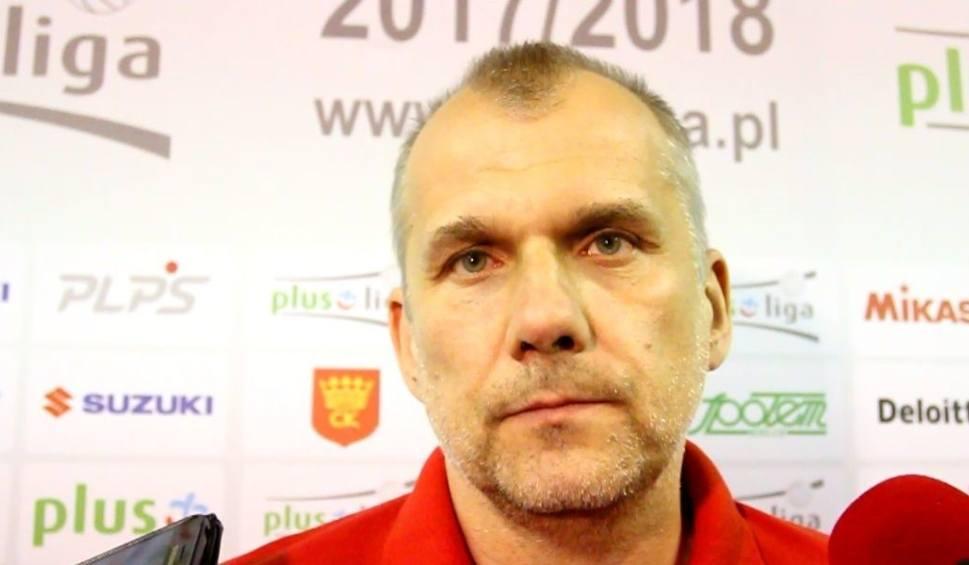 Film do artykułu: Daszkiewicz, trener Dafi Społem po porażce i spadku zespołu z PlusLigi: To dla mnie bardzo przykra sytuacja
