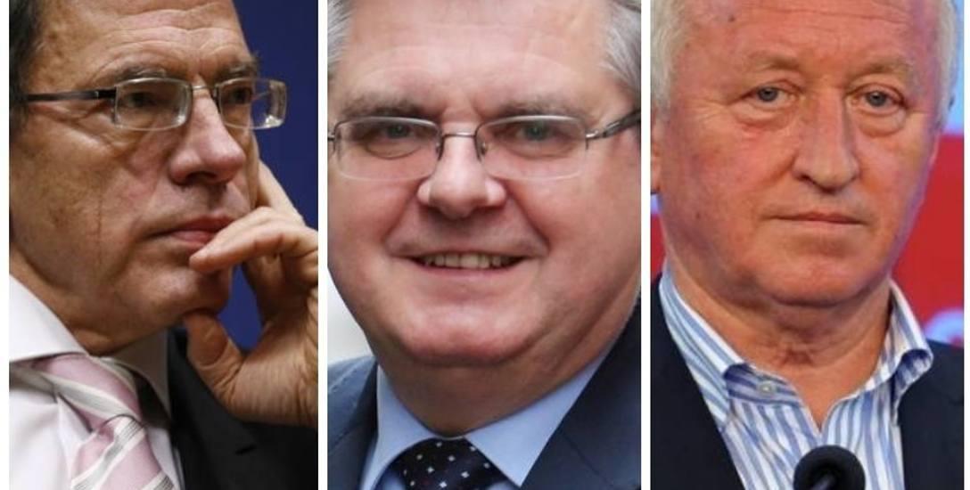 Obecni europosłowie z okręgu nr 13 (woj. lubuskie i zachodniopomorskie) Dariusz Rosati, Czesław Hoc i Bogusław Liberadzki.