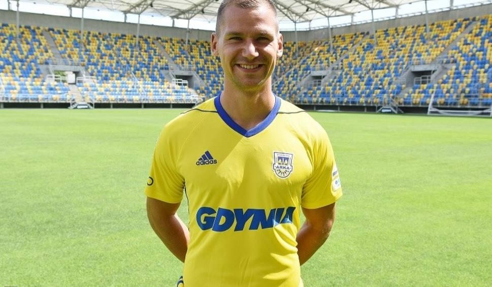 Film do artykułu: Arka Gdynia podpisała kolejny kontrakt. Trwa przebudowa zespołu żółto-niebieskich