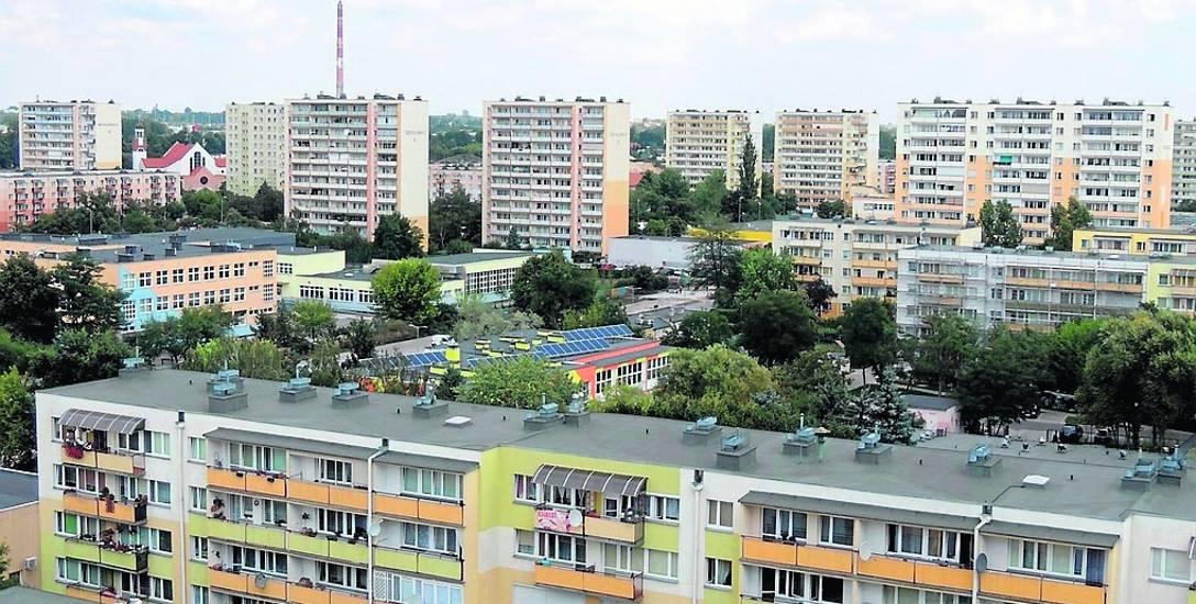 Rubinkowo i Skarpa to najliczniej zamieszkała część miasta. Zakup mieszkania na rynku wtórnym nie stanowi problemu