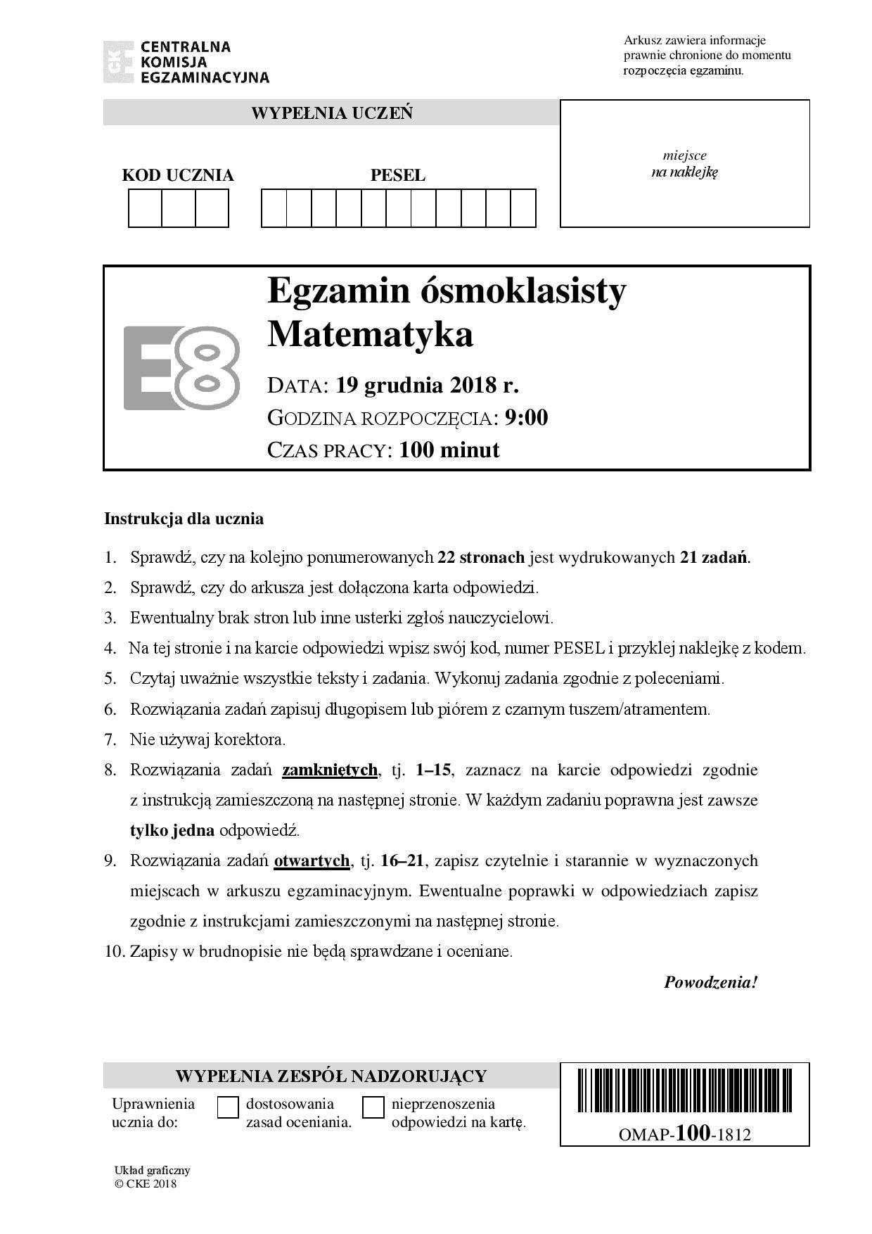 matura 2019 arkusz pdf