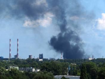 Pożar w zakładzie ArcelorMittal w Krakowie. WIOŚ tłumaczy swoją nieobecność