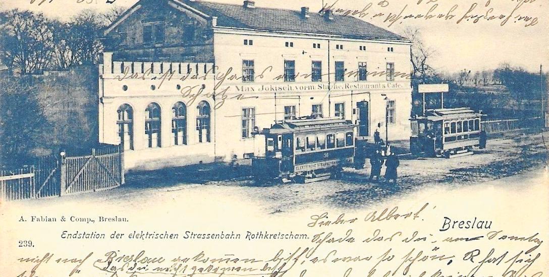 """""""Breslauer Zeitung"""" donosiła, że tramwaj elektryczny dojeżdża już na swój końcowy przystanek na Rothkretscham"""