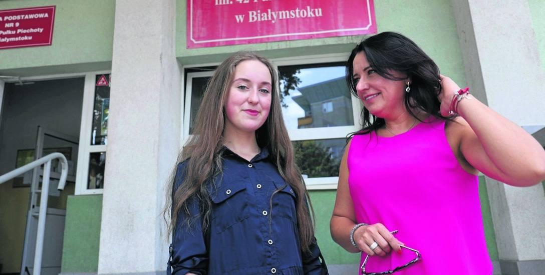 Trzy spośród pięciu moich klas napisały egzamin lepiej niż średnia w mieście – cieszy się  Edyta Haraburda, dyrektorka PG2. A Weronika Taranta może pochwalić