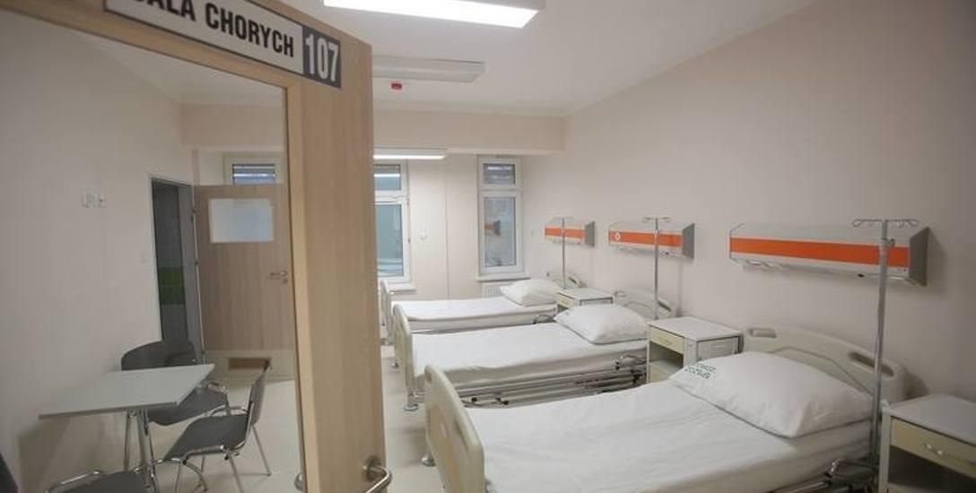 Jedna z czterech sal bloku operacyjnego wyposażona w nowoczesny sprzęt. Nie wiadomo kiedy zacznie być używany. Bez kontraktu z NFZ szpitala nie będzie