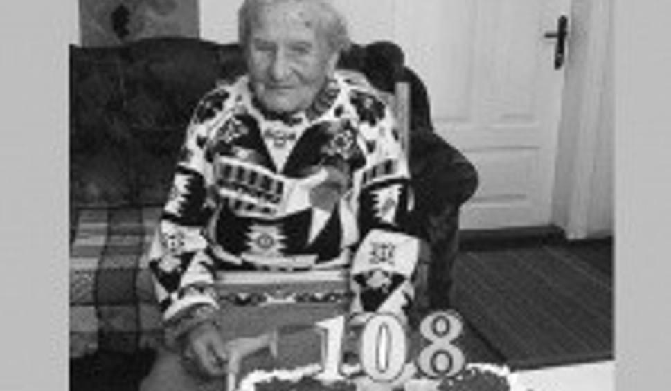 Film do artykułu: W wieku 108 lat zmarła Aniela Sołtyska, do śmierci cieszyła się dobrym zdrowiem