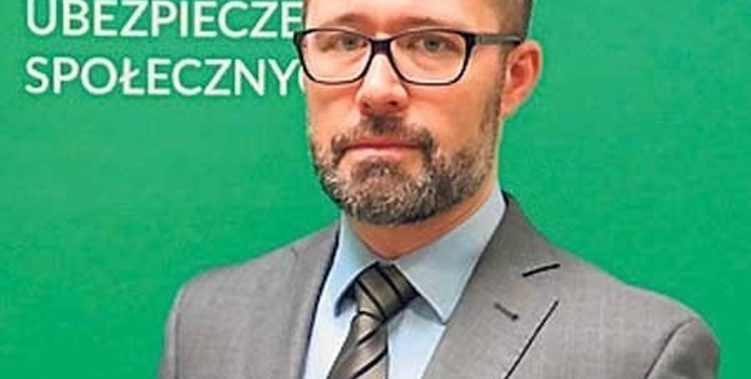 Karol Jagielski, regionalny rzecznik prasowy ZUS województwa zachodniopomorskiego