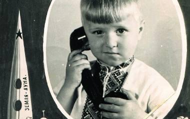 Okolicznościowa pocztówka z chłopcem, ZSRR, lata 60.