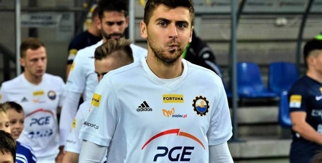 Bartosz Nowak, pomocnik PGE Stali Mielec: Najważniejsze mecze odbędą się wiosną