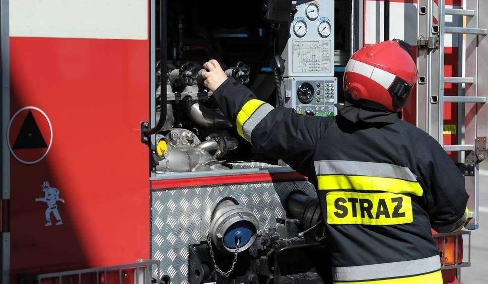 Film do artykułu: Pali się altana przy ul. Granicznej w Rzeszowie. Na miejscu 4 zastępy straży pożarnej