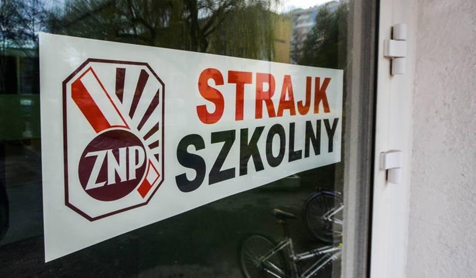 Film do artykułu: Strajk nauczycieli w powiecie pińczowskim. Te szkoły będą zamknięte (LISTA)