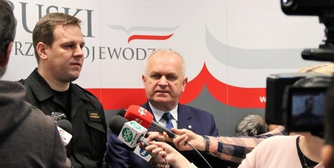 Wyniki weekendowych kontroli w lubuskich escape roomach przedstawili wczoraj w Lubuskim Urzędzie Wojewódzkim komendant bryg. Patryk Maruszak i wojewoda