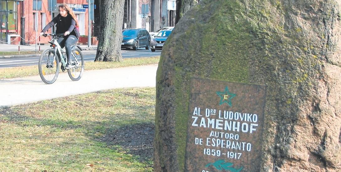 To obelisk na cześć Żyda polskiego pochodzenia, wybitnego lekarza i twórcy języka esperanto