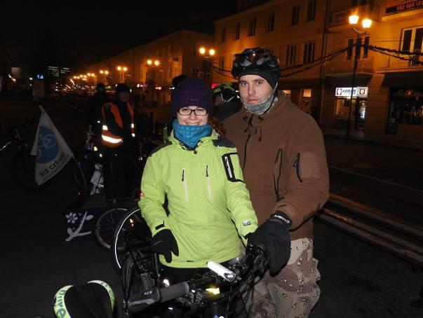 Niska temperatura nie odstraszyła rowerzystów (zdjęcia)