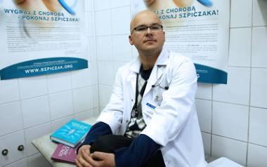 Dr. hab. Artur Jurczyszyn z Katedry Hematologii CM UJ, szef Fundacji Centrum Leczenia Szpiczaka
