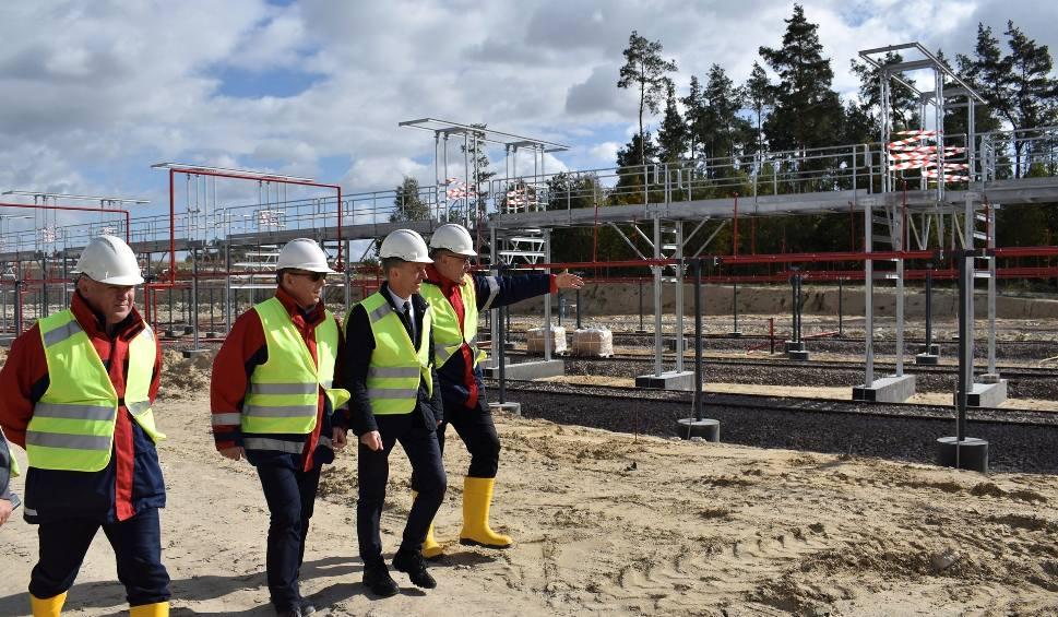 Film do artykułu: Budowa terminalu LPG GASPOLU w Sędziszowie na ukończeniu