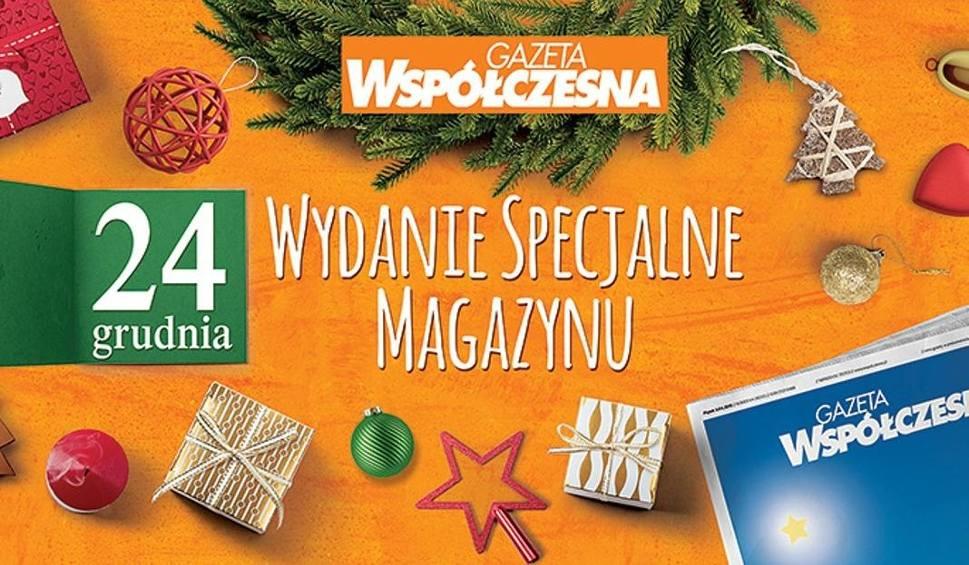 """Film do artykułu: Świąteczny Magazyn """"Gazety Współczesnej"""". Co Karol Okrasa sądzi o naszej regionalnej kuchni? (wideo)"""