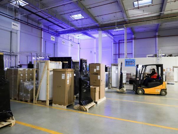 ROHLIG SUUS Logistics, największy polski operator logistyczny, przenosi siedzibę białostockiego oddziału do większej i bardziej nowoczesnej lokalizacji